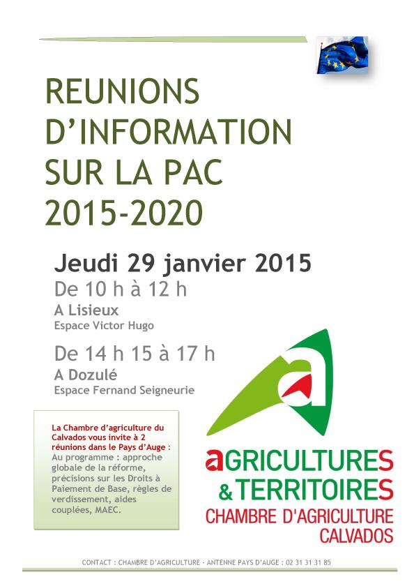R forme de la pac 2015 2020 adep onp association des for Chambre agriculture calvados
